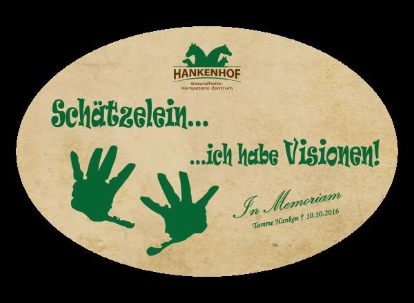 "Fanaufkleber ""Schätzelein"""