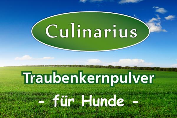 Culinarius Traubenkernpulver für Hunde