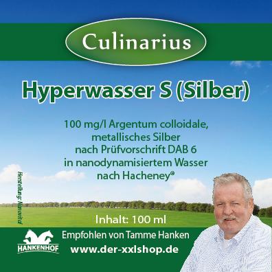 Hyperwasser S (silber) - Hund 100ml