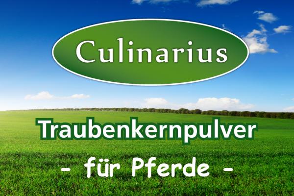 Culinarius Traubenkernpulver für Pferde