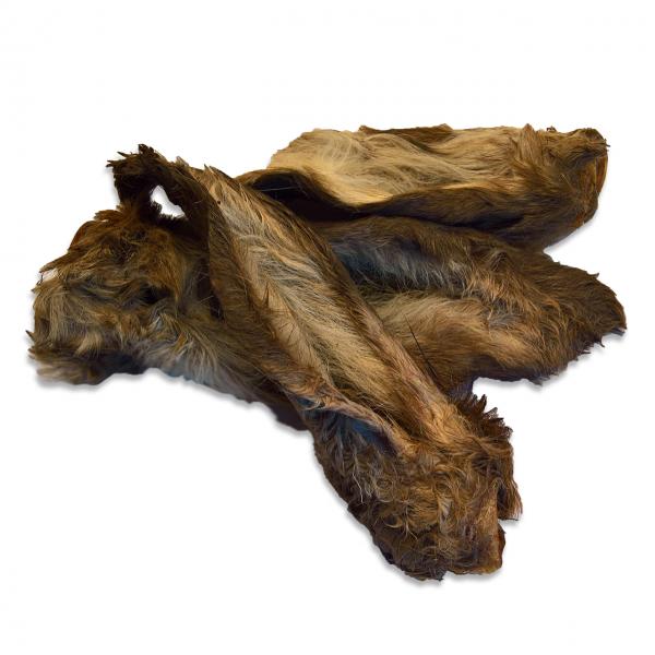 Hirsch-Ohren mit Fell